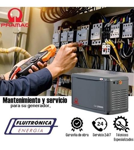 generadores a gas pramac venta y servicio grupo electrógeno