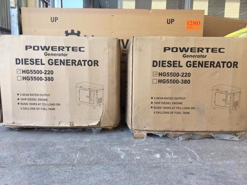 generadores powertec