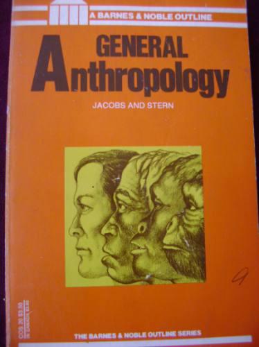 general anthropology / melville jacobs - bernhard j. stern