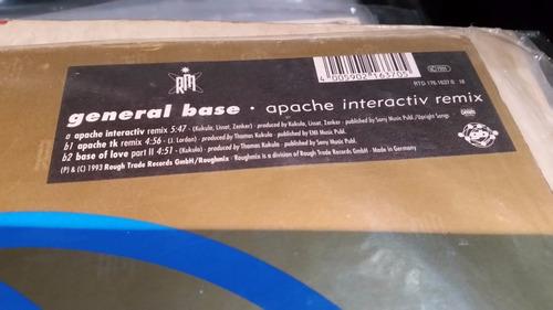general base apache (interactiv remix) vinilo maxi test pres