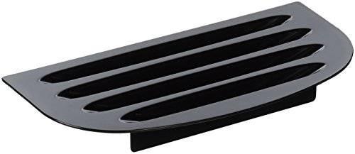 general electric refrigerador bandeja de goteo (negro)