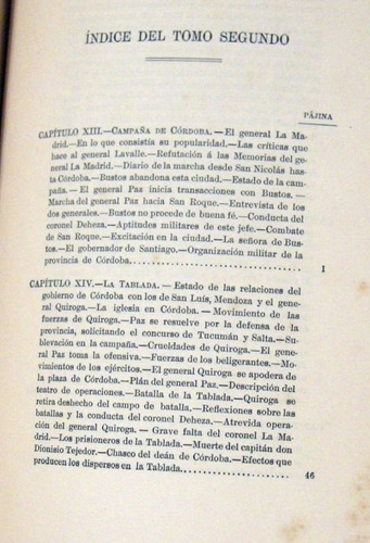 general jose maria paz memorias postumas t ii 1892 no envio