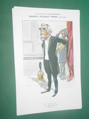 general rosendo fraga ilustracion zavattaro clipping dibujo