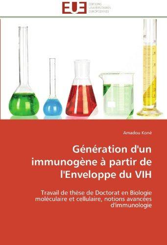 generation d'un immunogene a partir de l'enveloppe du vih;
