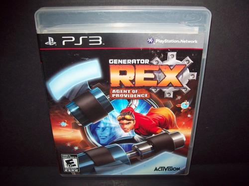 generator rex agent of providence ps3 envio gratis