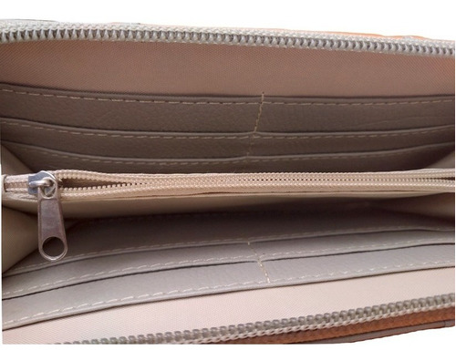 generic billetera de cuero abano para dama
