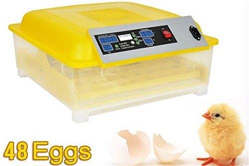 generic egg incubator hatcher 48 digital clear control de t