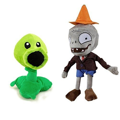 generic toyswill plants vs zombies juguetes de peluche cone