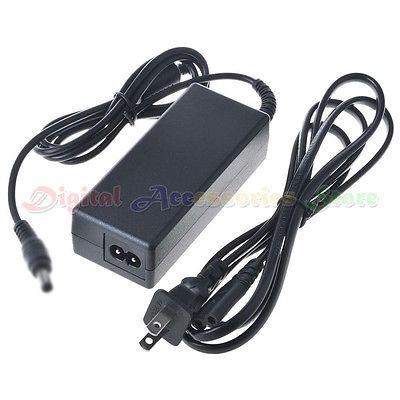 genérico 12v ac adaptador cargador para cable de monitor lcd