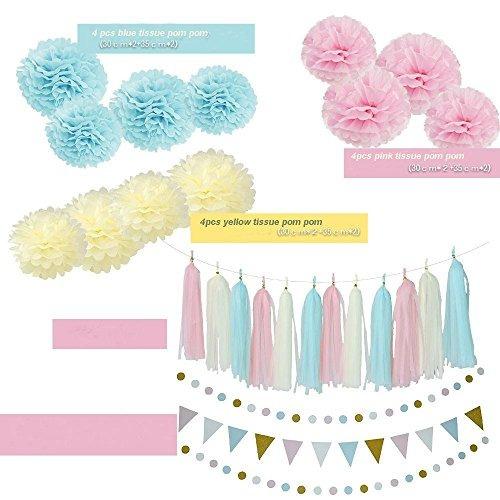 género reveal favores de fiesta baby shower decoraciones bab