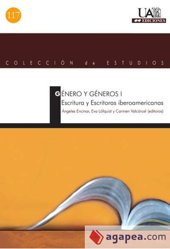 genero y generos i. escritura y escritor(libro )