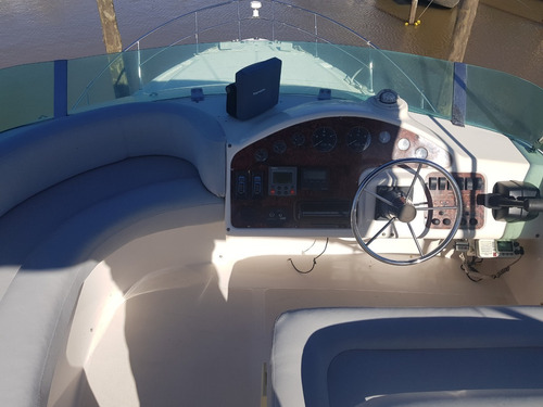 genesis 390 2001 crucero linea eje cummins 300hp 3 camarot!!