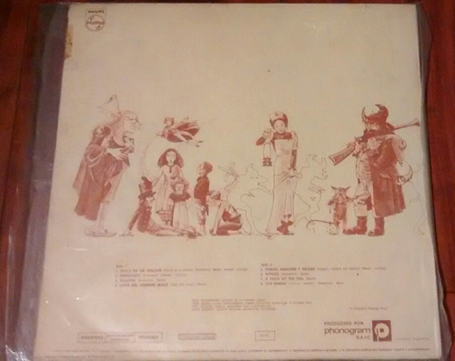 génesis - a trick of a trail 1976 vinilo nacional