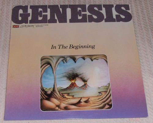 genesis - in the begining ( l p ed. u s a 1977)