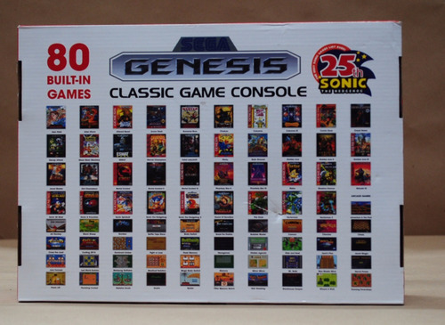 genesis juegos consola