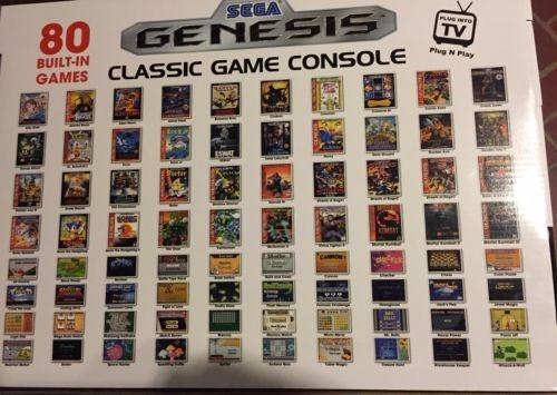 genesis juegos sega