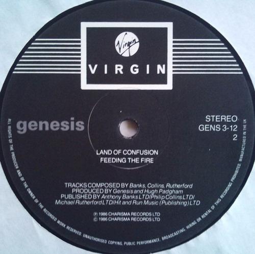 genesis - land of confusion extended uk vinilo 12 pulgadas