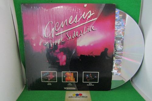 genesis live  video laserdisc musical  eilcolombia