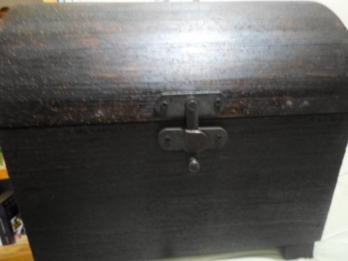 génesis precioso baul rustico mueble colonial envío seguro
