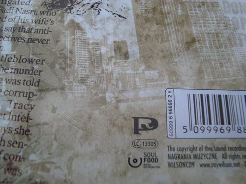 genesis  ray wilson  propaganda man   cd importado