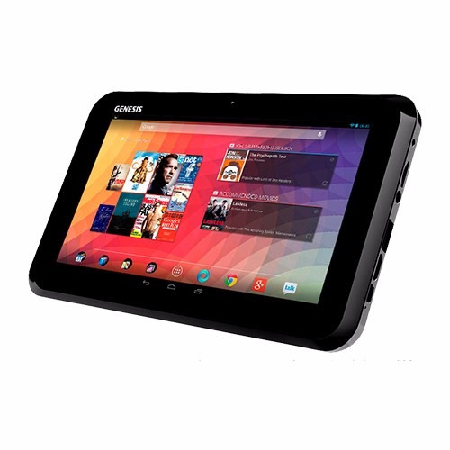genesis tablet gt-7305 negra 7  cortex a9 1gb ram 1.5ghz 8g
