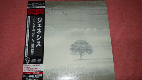Genesis - Wind & Wuthering Mini Lp Japan Hybrid Sacd + Dvd