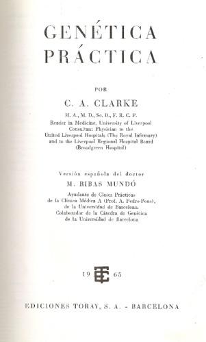 genetica practica - clarke - toray