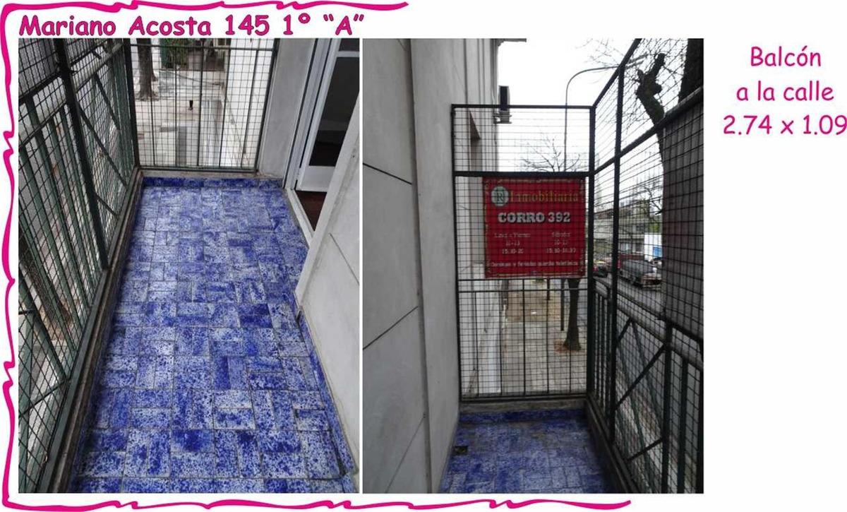genética privilegiada  5 amb 1º piso balcón frente con asc