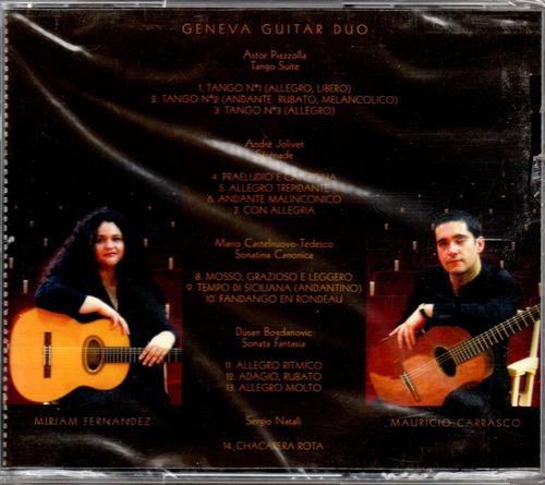 geneva guitar duo - astor piazzolla tango suite