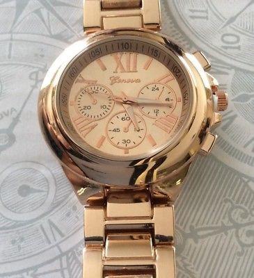 Geneva Reloj De Oro Rosa Para Mujer Horas Numeradas... -   41.990 en ... 459f8e544593