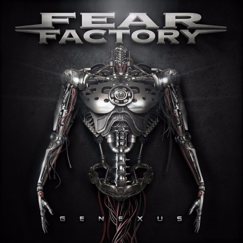 genexus fear factory disco cd con 12 canciones