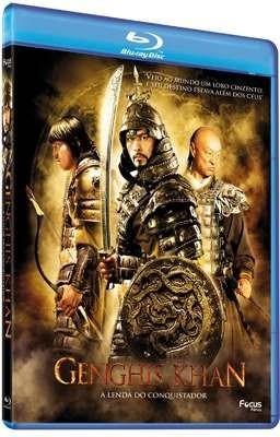 genghis khan - a lenda do conquistador - blu-ray - lacrado
