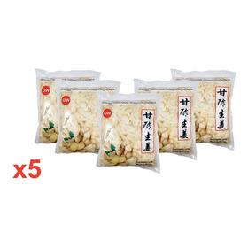 Gengibre Tradicional Fatiado Em Conserva 1kg 5 Pacotes