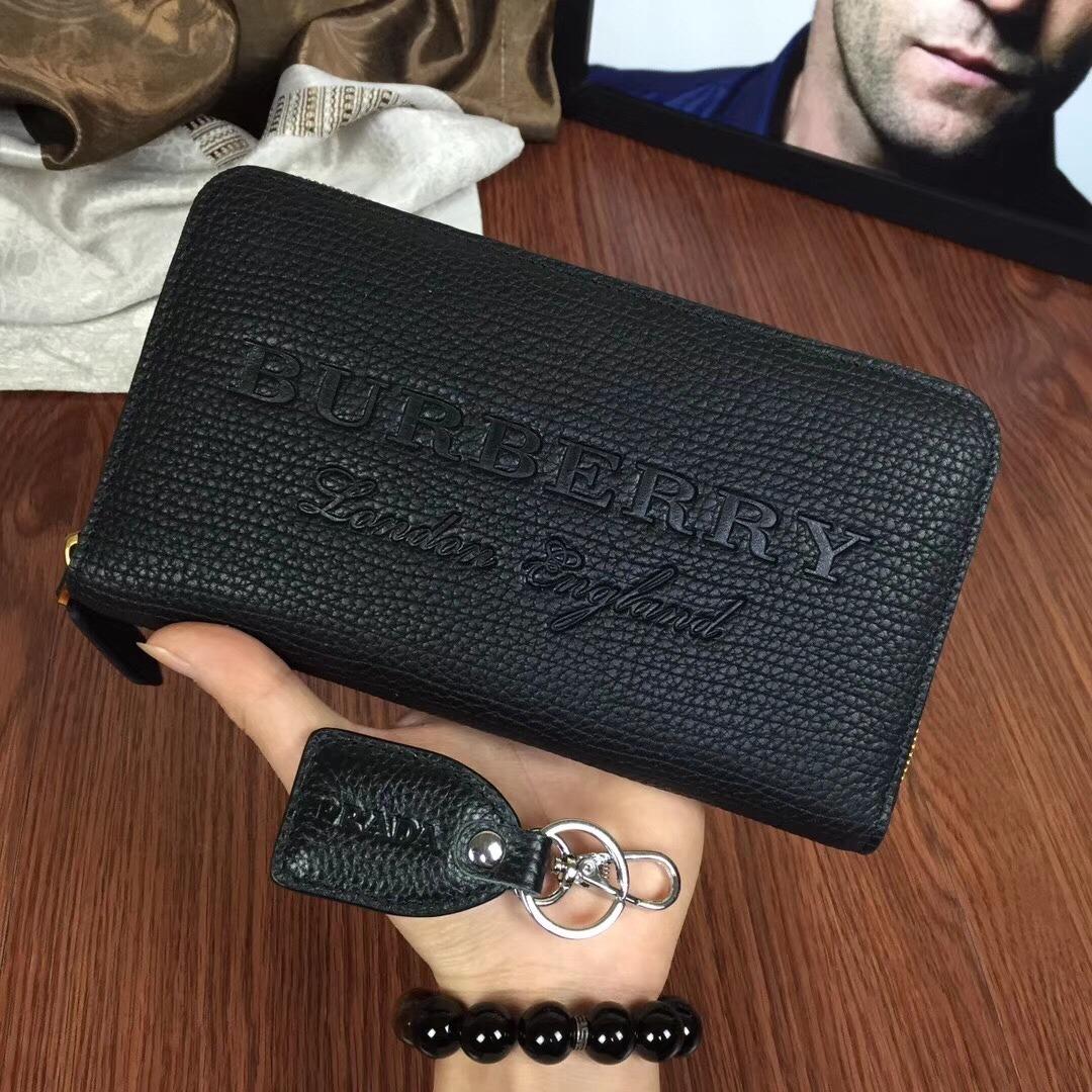 2914fc40a genial cartera para mujer dama burberry negra nombre grande. Cargando zoom.