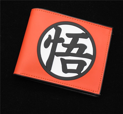 genial cartera rubber simbolo dragon ball z envio gratis
