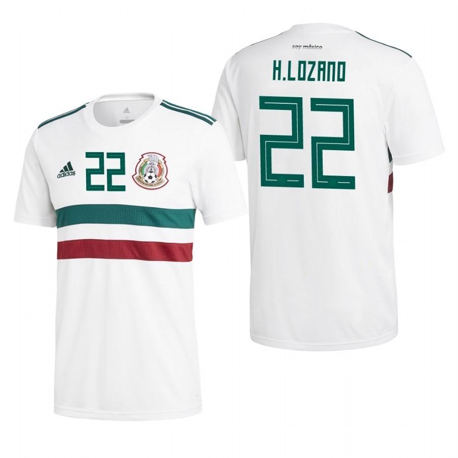 0159f55b1 Genial jersey blanca chucky lozano mexico mundial jpg 900x900 Lozano 22  mexico