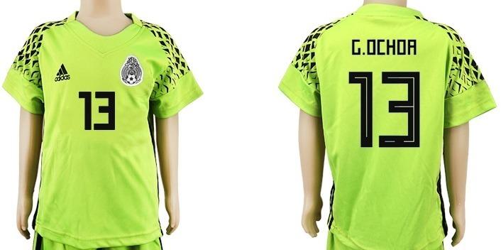 115047dafc608 Mlm genial jersey fosforescente nino portero mexico memo ochoa jpg 706x352  Memo ochoa jersey