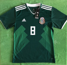 differently f04ad f2c91 Genial Jersey México Local Mundial 2018 Hirving Lozano 8