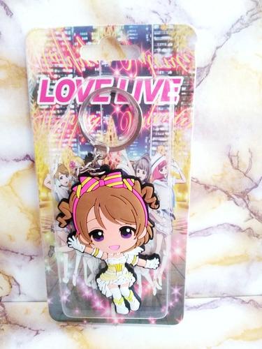 genial llavero love live anime kawaii rubber