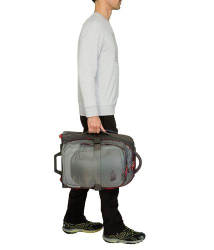 genial maleta de viaje con ruedas the north face overhead
