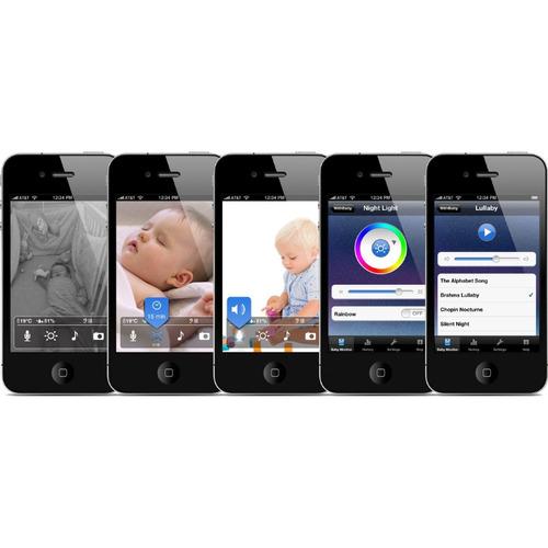genial monitor para bebé para iphone android galaxy ipad