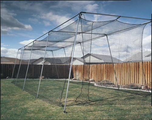 genial red para jaula de bateo de 70 pies! para beisbol atec