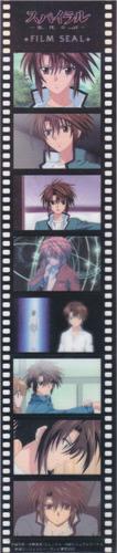 genial set de 5 film seal movic o fotogramas de anime y136