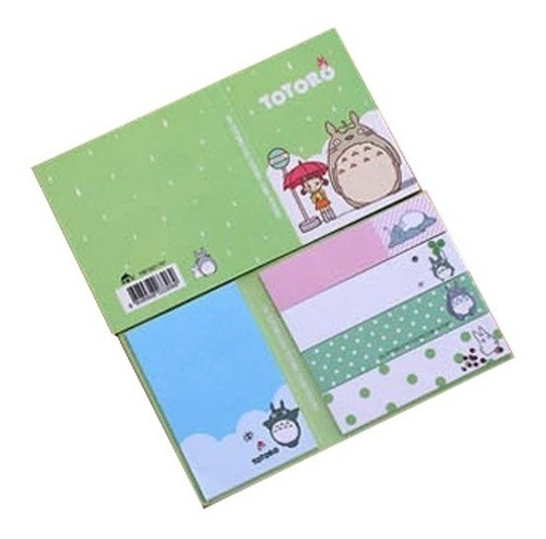 geniales notitas kawaii sticky notes de totoro modelo 1