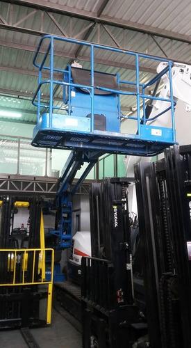 genie plataforma elevadora telescópica