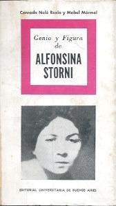 genio y figura de alfonsina storni (ed. eudeba) nale roxlo