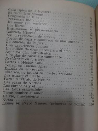 genio y figura de pablo neruda - margarita aguirre - 1° 1964
