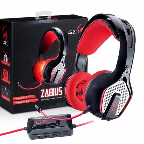 genius audífonos para gamer zabius - barulu