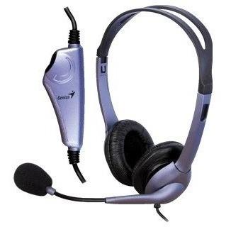 genius headset diadema con microfono (hs-04s)