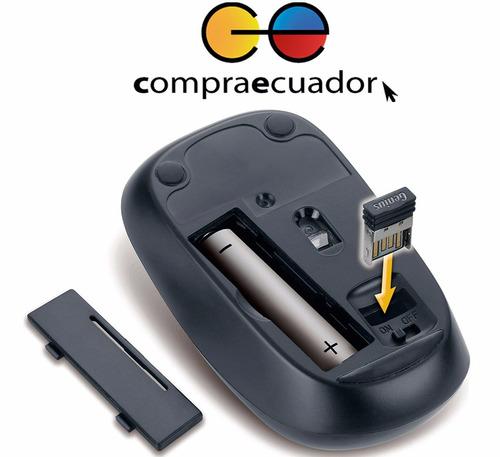genius mouse inalámbrico usb nx-7000 1200 dpi 2.4 ghz